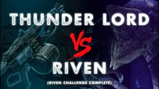 Thunderlord vs. Riven - Challenge Completed | Destiny 2