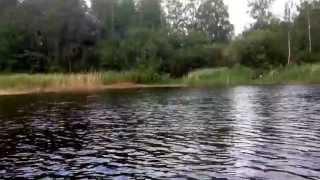 Рыбалка на Вуоксе.