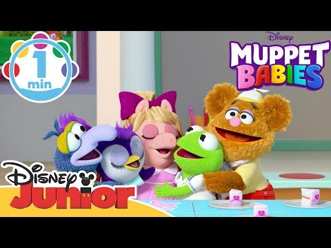 Muppet Babies | Theme Song 🎤| Disney Junior UK
