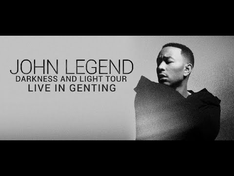JOHN LEGEND CONCERT IN MALAYSIA GENTING HIGHLANDS