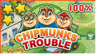 Chipmunks' Trouble - iOS/Android - 100 level