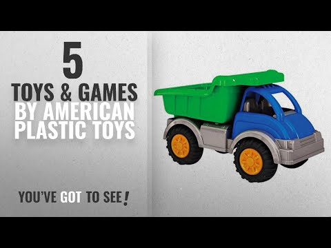 Top 10 American Plastic Toys Toys & Games [2018]: American Plastic Toys Gigantic Dump Truck