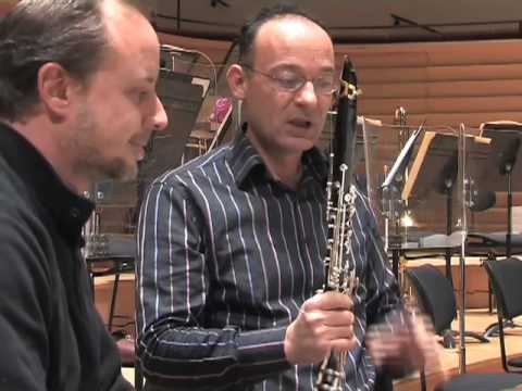 Youtube Symphony Orchestra - Le regard des clarinettistes sur la partition de Tan Dun