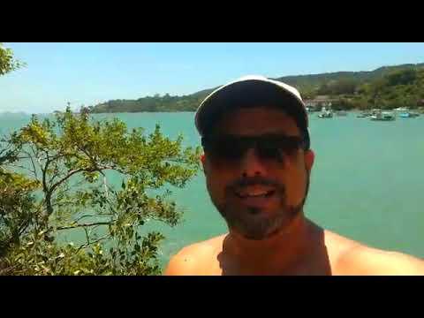 Paraíso! Praia de João de Campo e praia de Calheiros SC.