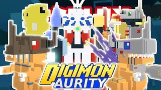 Digimon Aurity - DIGIVOLVING TO DOTOMEGAMON!! DOTAGUMON DIGIVOLUTION LINE (Roblox) *NEW*
