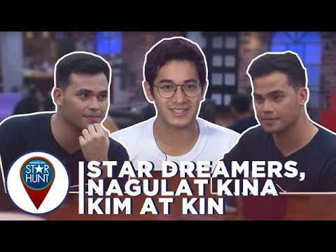 Camp Star Hunt: Star Dreamers, nagulat nang makita sina Kim at Kin
