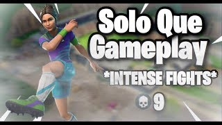 Solo Que 4 Of Us In One Game Intense Build Fights - Fortnite Battle Royale