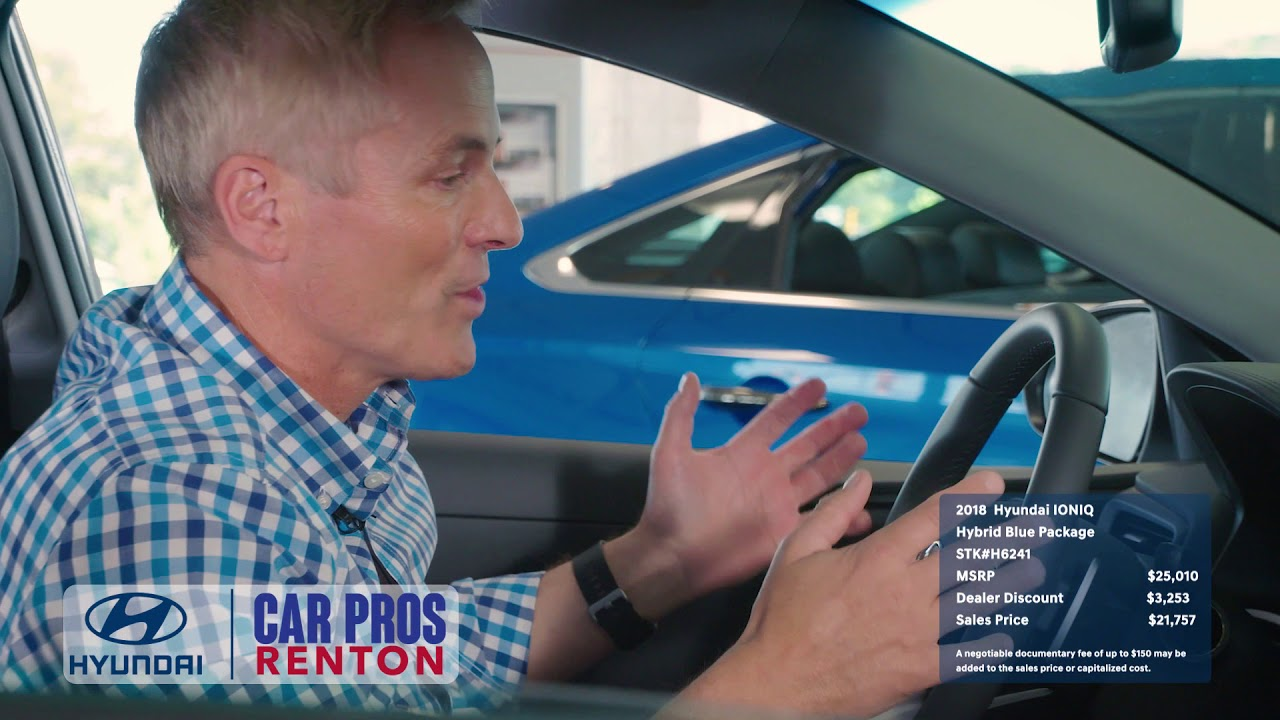 Car Pros Renton >> Car Pros Hyundai Renton 2018 Hyundai Ioniq Renton Wa