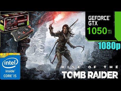 Rise of the Tomb Raider GTX 1050TI 4GB   High settings   1080p