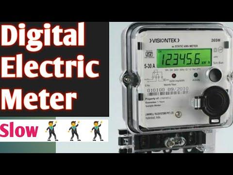 Digital Electric Meter Slow 100% Success Trick  Meter Hack  Power Saving Device