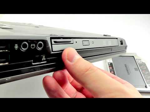 ОБЗОР: Карман-адаптер для SSD-HDD диска (вместо CD-DVD) для ноутбуков ASUS K46/ K56/ R405/ E46/ N550