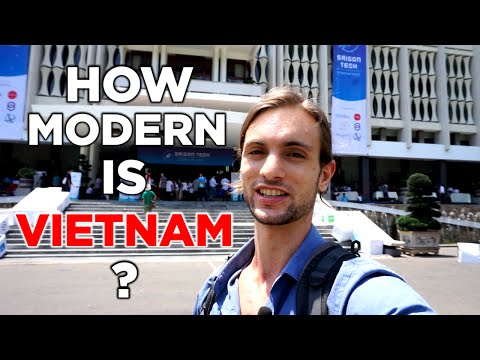 How Modern is Ho Chi Minh City (Saigon), Vietnam? Teaching English in Vietnam