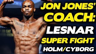 Coach Winkeljohn: Jon Jones Suffered Injury 2 Days Before UFC 214, Talks Brock Lesnar Fight