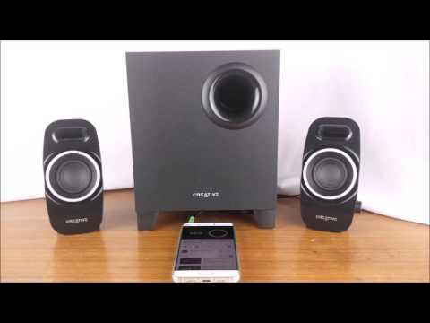 Creative SBS A255 Audio Sample YouTube