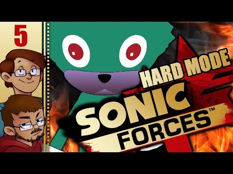 Let's Play Sonic Forces Part 5 - Capital City (HARD MODE)