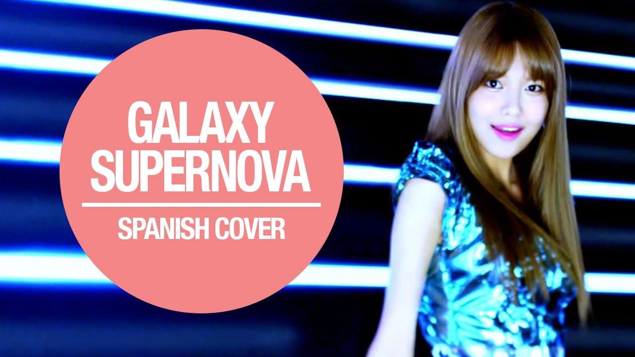SNSD - Galaxy Supernova Cover Español - YouTube