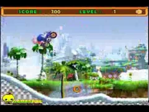 วีดีโอการเล่นเกม Sonic Thunder Ride โซนิคมอเตอร์ไซค์วิบาก