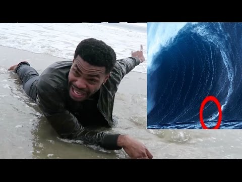 I SURVIVED THE BIGGEST WAVE EVER!