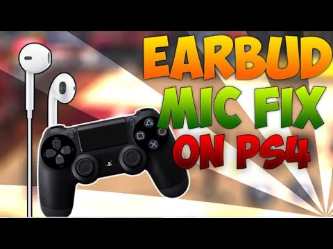 Can you use apple earbuds as mic on ps4