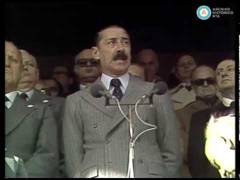 Inauguración del Mundial ´78 y discurso de Videla (fragmento)