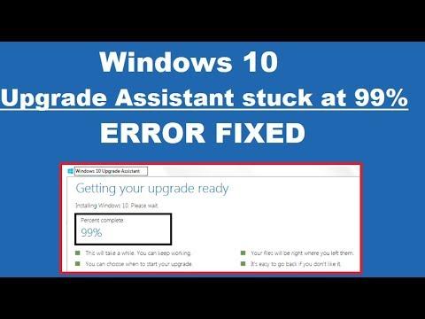Windows ten update stuck at 99 | Fix Windows 10 Upgrade Stuck at 99