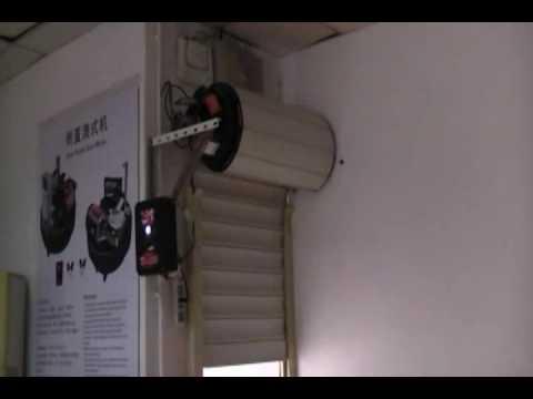 Roll up door motor youtube for Roll up garage door motors