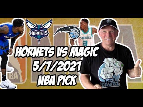NBA Betting Pick: Charlotte Hornets vs Orlando Magic 5/7/21 Free NBA Pick and Prediction