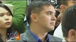 Cedric Lee & Deniece Cornejo attend court hearing