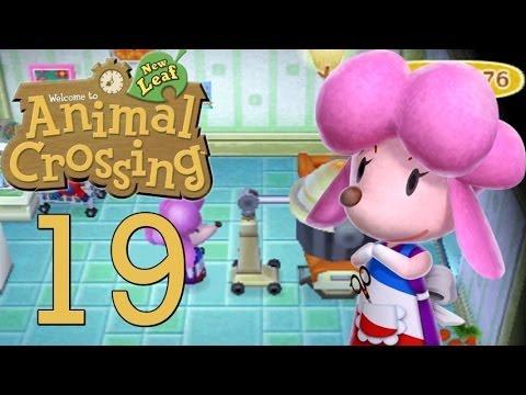 Let's Play Animal Crossing: New Leaf Part 19 AHHH Meine Haare !