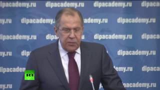 Сергей Лавров на встрече с коллективом Дипломатической академии МИД России