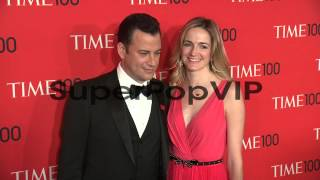 Jimmy Kimmel and Molly McNearney  at 2013 Time 100 Gala -...