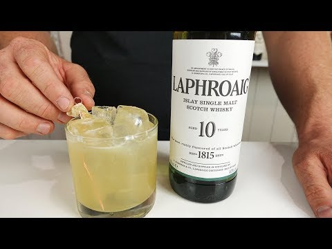 PENICILLIN COCKTAIL RECIPE - Whisky, Ginger, Citrus and Honey!