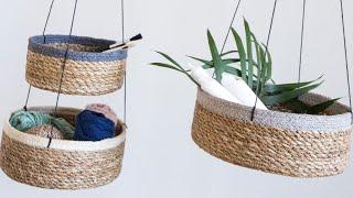 Decoração Rústica com CORDAS 15 ideias de decoração com sisal - Só ideias legais