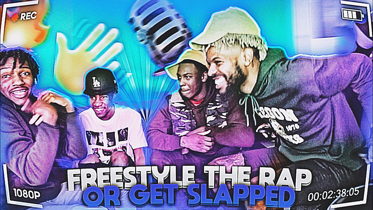 FREESTYLE THE RAP OR GET SLAPPED!! 😨🎙 BEATBOX FREESTYLE **MUST waTCH** Ft PrettyBoythomaz