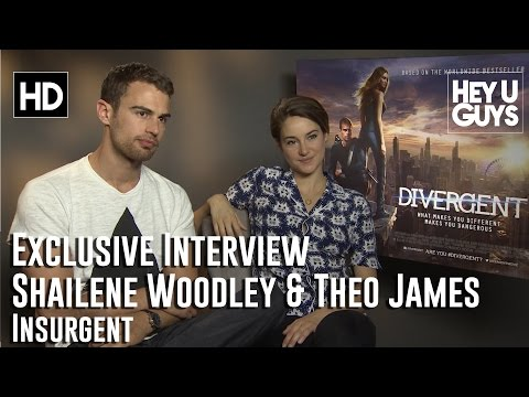 Shailene Woodley & Theo James Exclusive Interview - Divergent