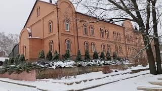 Монастырь. Рождественское утро 2. Свято-Тихоновский Преображенский женский монастырь г.Задонск.