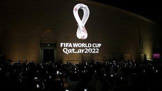شاهد: بتصميم يستوحي رمزية عربية قطر تكشف شعار كأس العالم لكرة القدم 2022…