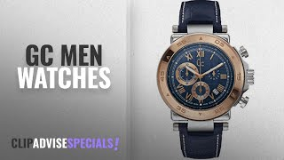10 Best Selling Gc Men Watches [2018 ]: Mens Gc Gc-1 Class Chronograph Watch X90015G7S