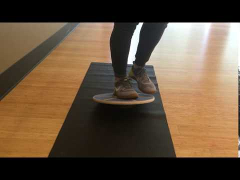 Balance Board Exercise #8: Single Round the Clock