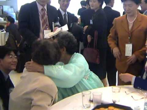 Divided Korean Families: Brief, Emotional Reunions