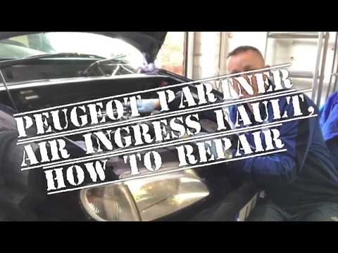 Peugeot Partner Won't Start, Air Ingress in Diesel Fuel Line How To Repair and fit non return valve