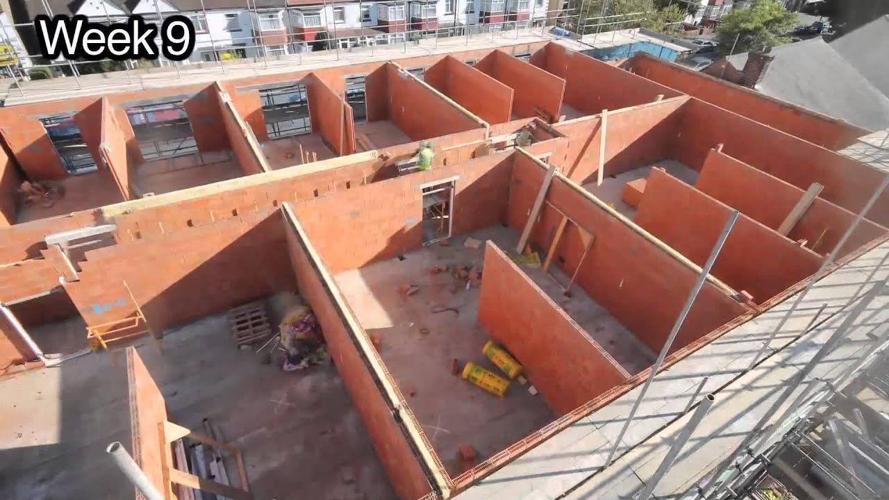 Porotherm Clay Block Walling Time Lapse. Building Products Magazine.  Metropolis Multimedia.