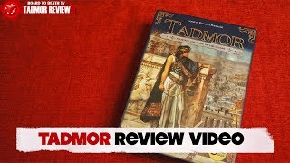 Tadmore Board Game Review Video