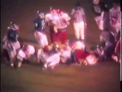 1989 Stilwell Indians at Miami Wardogs Football