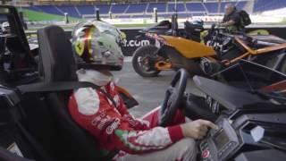 2017 ROC Miami - Sebastian Vettel turns up the music, during Friday practice