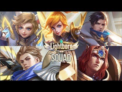 Lightborn Squad Skins Granger Overrider Fanny Ranger