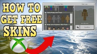 How To Get FREE Custom Skins In Minecraft Xbox One