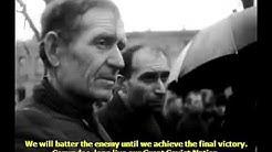 Marshal Zhukov and General Vatutin speak at the rally in liberated Kiev
