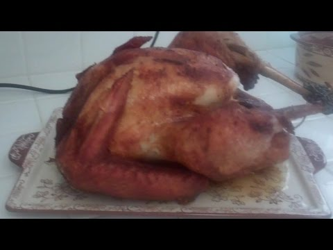 How to fry a turkey without a turkey fryer, stove and in your kitchen