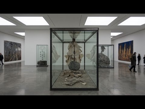 Anselm Kiefer - Walhalla ex - White Cube Gallery - London - January 2017